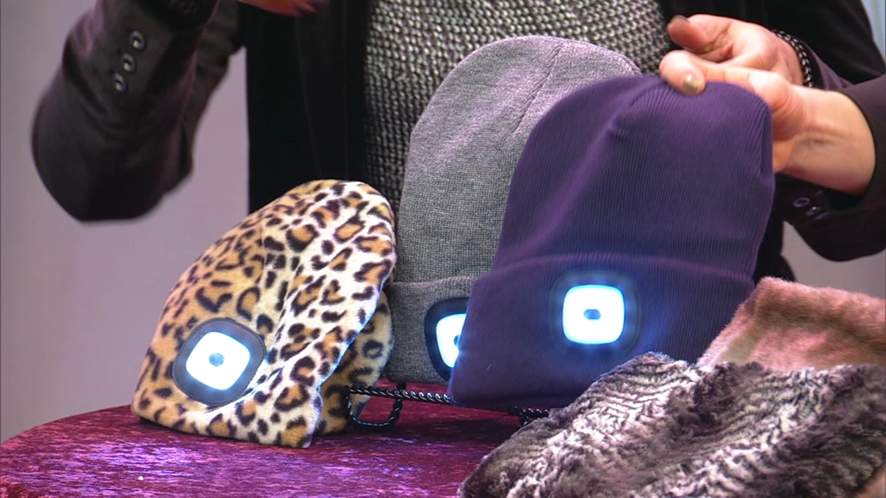 Raquel Graham is the founder of ROQ Innovation. She created two products, Headlightz and Nekz, to help keep people safe and warm.