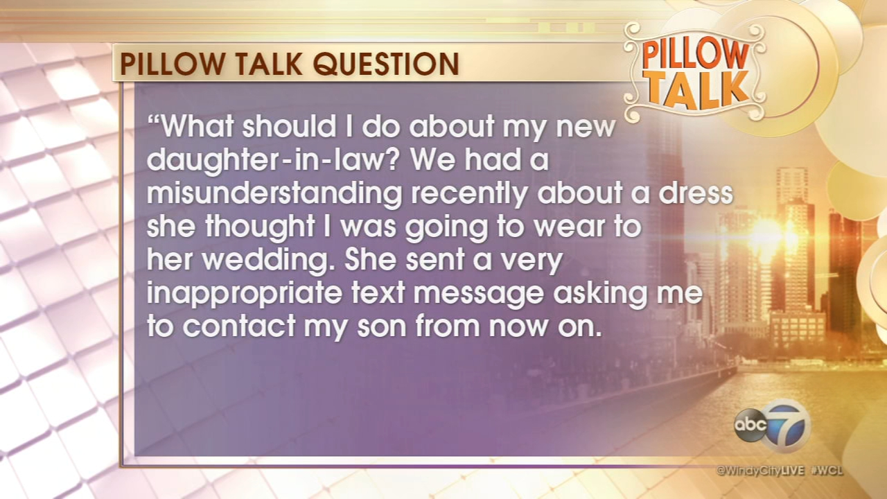 Pillow Talk: Daughter-in-law troubles