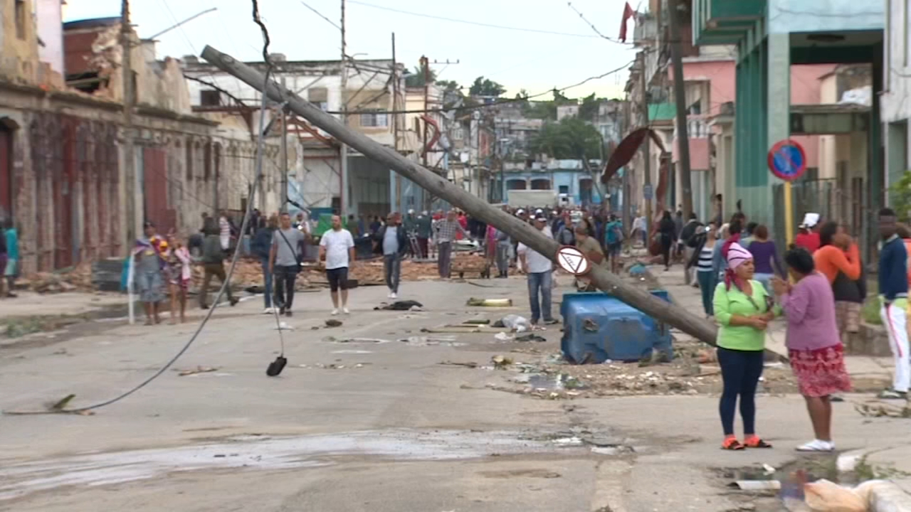 Cuban locals said Sundays tornado had the sound of a jet engine, and they felt changes in environmental pressure as it hit.