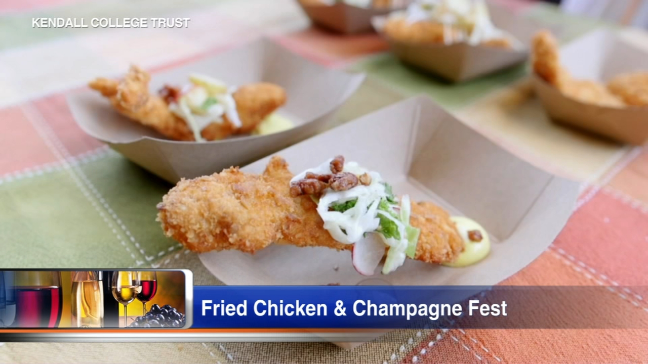 Kendall College Trust is hosting the fourth annual Fried Chicken and Champagne Fest this Saturday. The food festival will feature a dozen of Chicago's top chefs.
