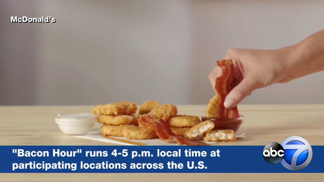 The promotion kicks off a limited-time run of McDonalds offering bacon on certain classic items.