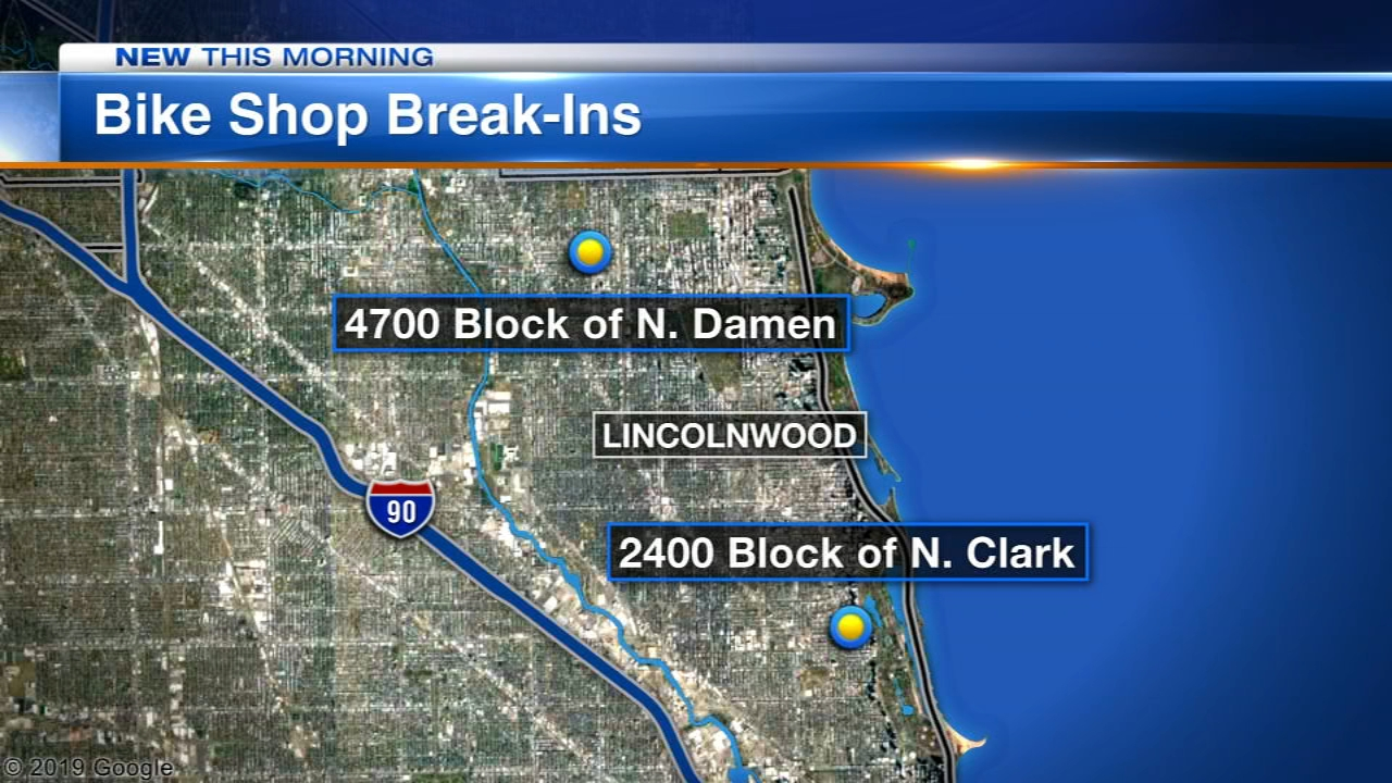 Chicago police have issued an alert about thieves targeting North Side bicycle shops this month.