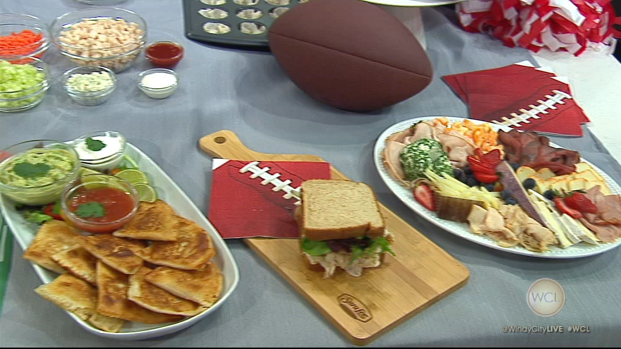 ESPNs Sarah Spain shared some Game Day recipes that used Sara Lee Premium Meats.