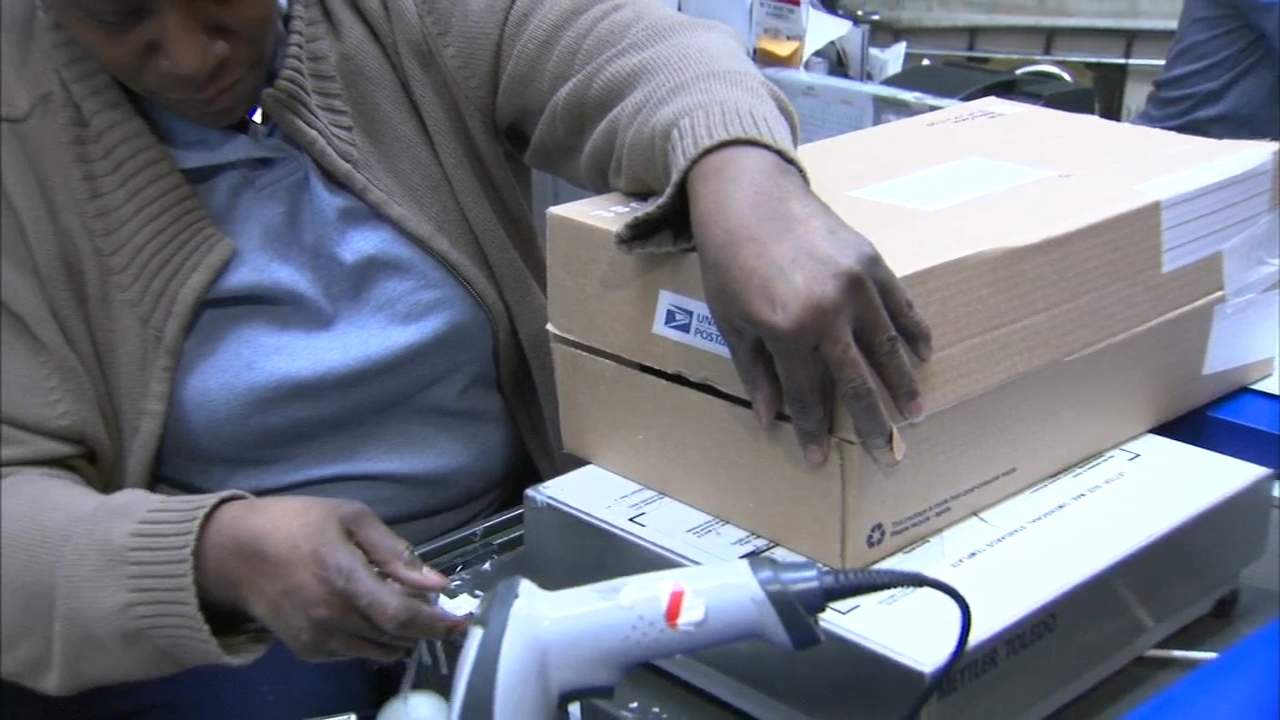 The US Postal Service will not be delivering mail in parts of five states affected by the freezing cold.