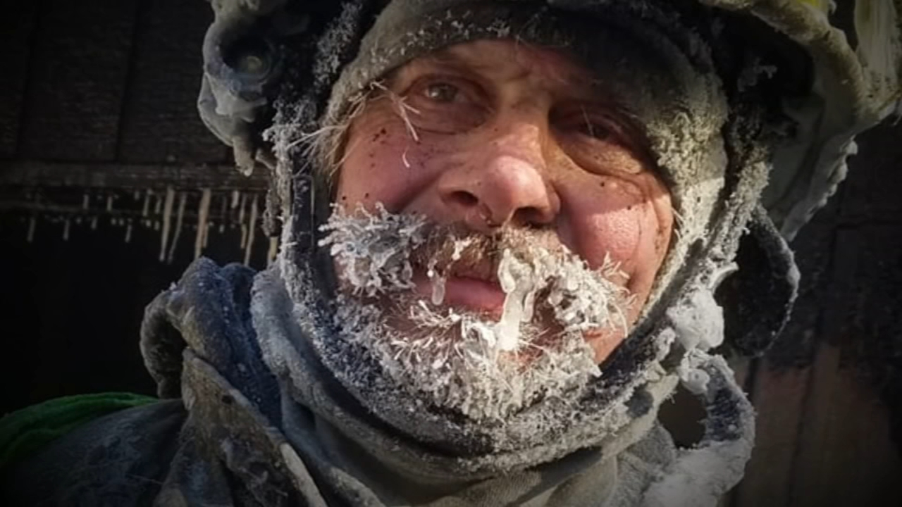 Its insanely cold in Wisconsin -- and its about to get even colder -- but thats not stopping firefighters from doing their duty.