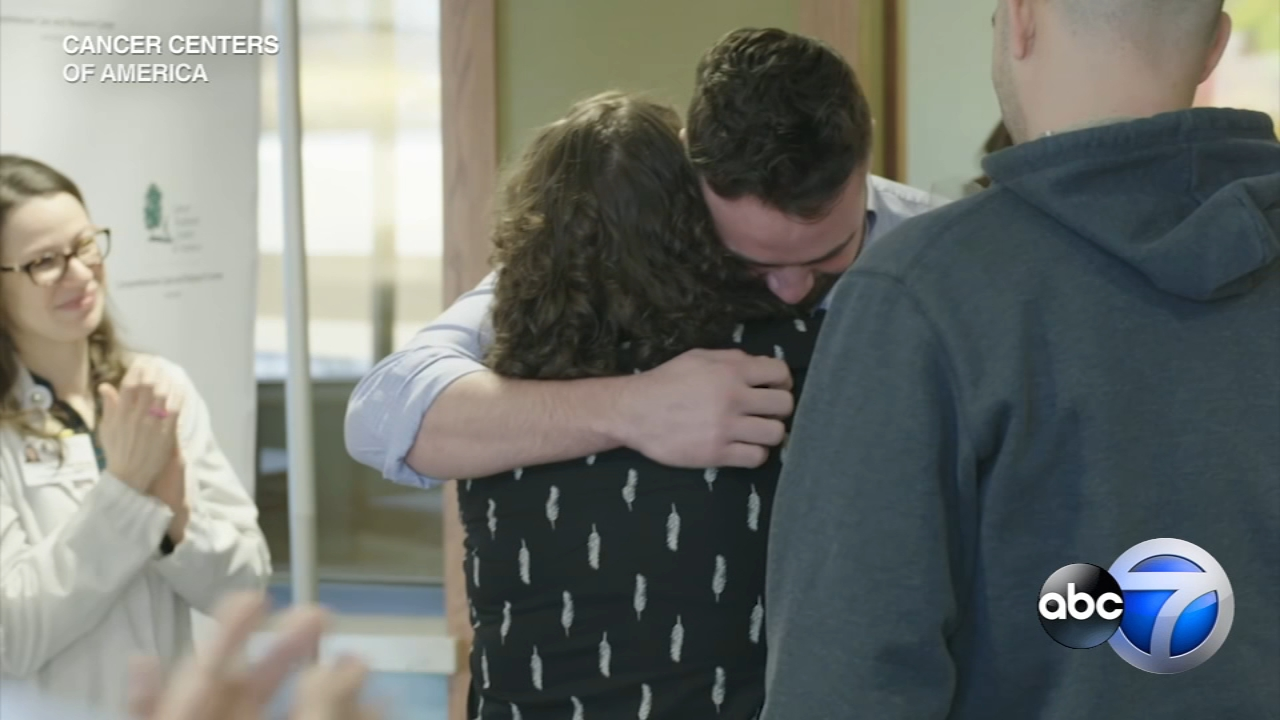 There wasnt a dry eye in the room when a Hodgkins Lymphoma survivor met the stem cell donor who saved her life.