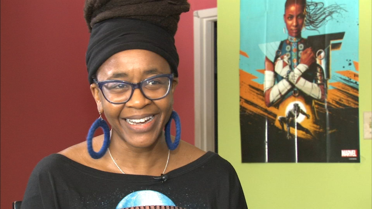 An award-winning black female author from Flossmoor has been tapped by Marvel Comics to write several comic books based on the characters in Black Panther.