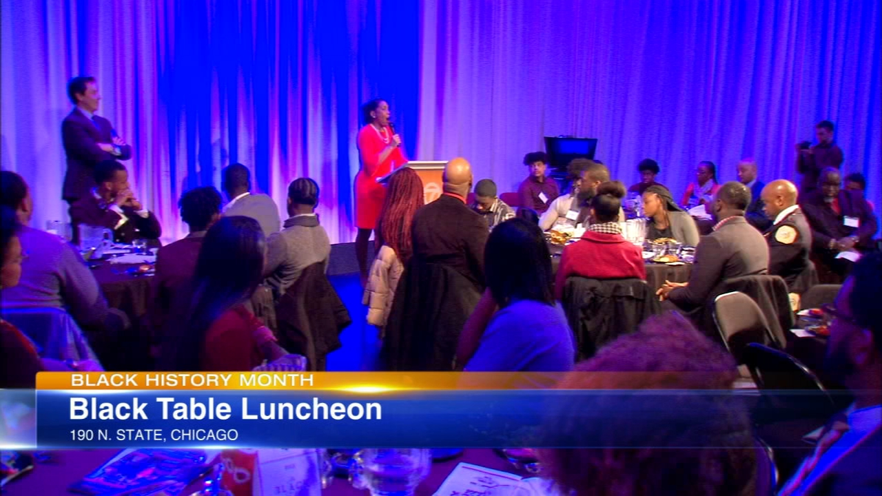 The Black Table Luncheon kicked off Black History Month Friday at ABC7.