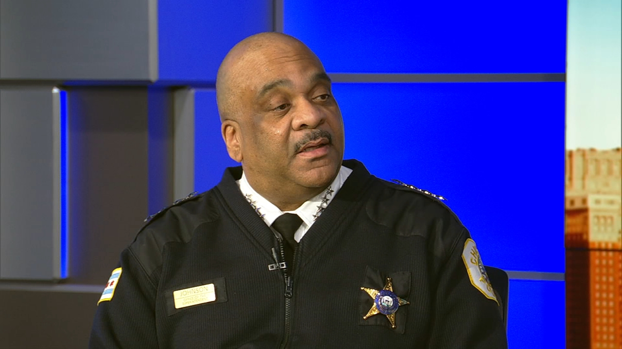 Chicago Police Superintendent Eddie Johnson discusses January crime numbers.
