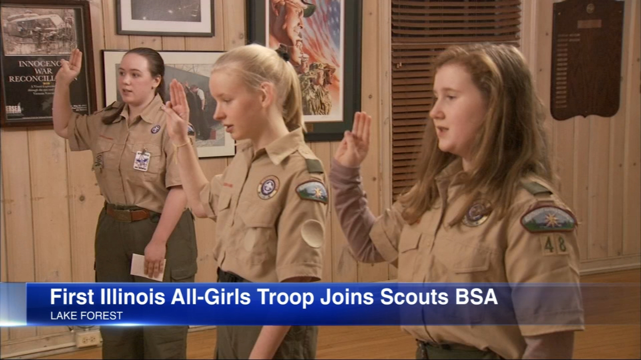 The first Scouts BSA, formerly Boy Scouts, troop formed in Lake Forest.