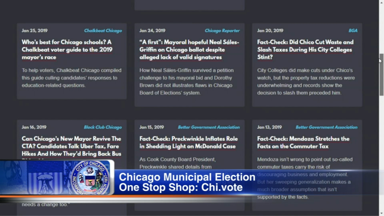 Chi.vote is your one-stop shop for the Chicago Municipal Election.
