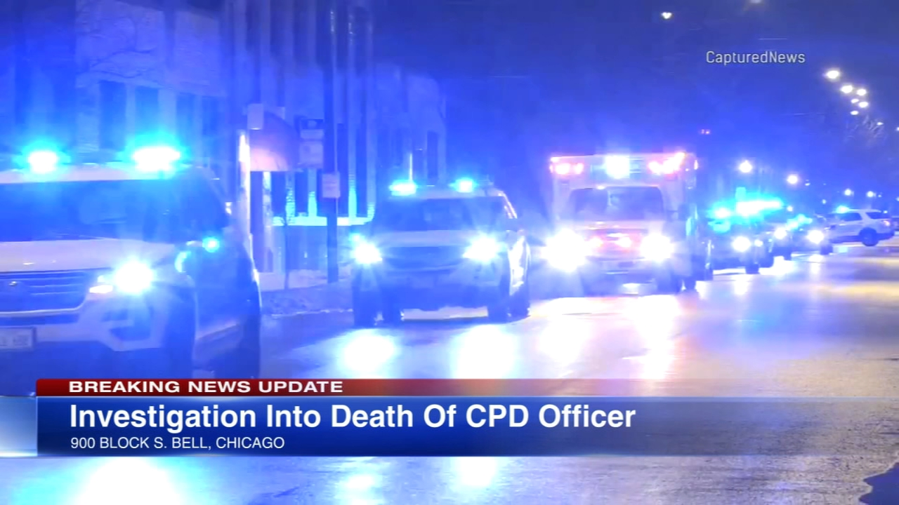 Off-duty Chicago police Officer Lori Rice, 47, was found dead with an apparent self-inflicted gunshot wound.