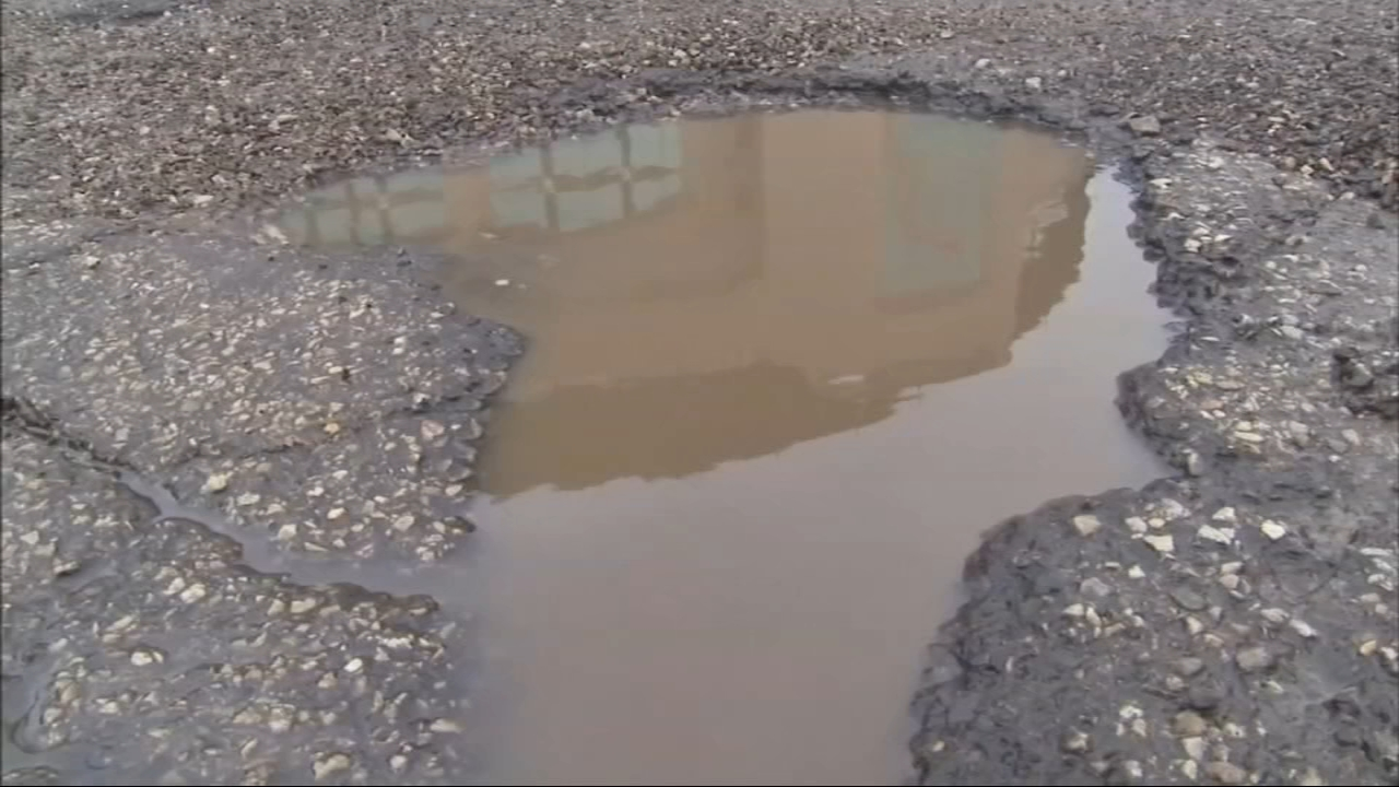 If you suffered damage from a pothole, you can file a claim for reimbursement with the Office of the City Clerk.