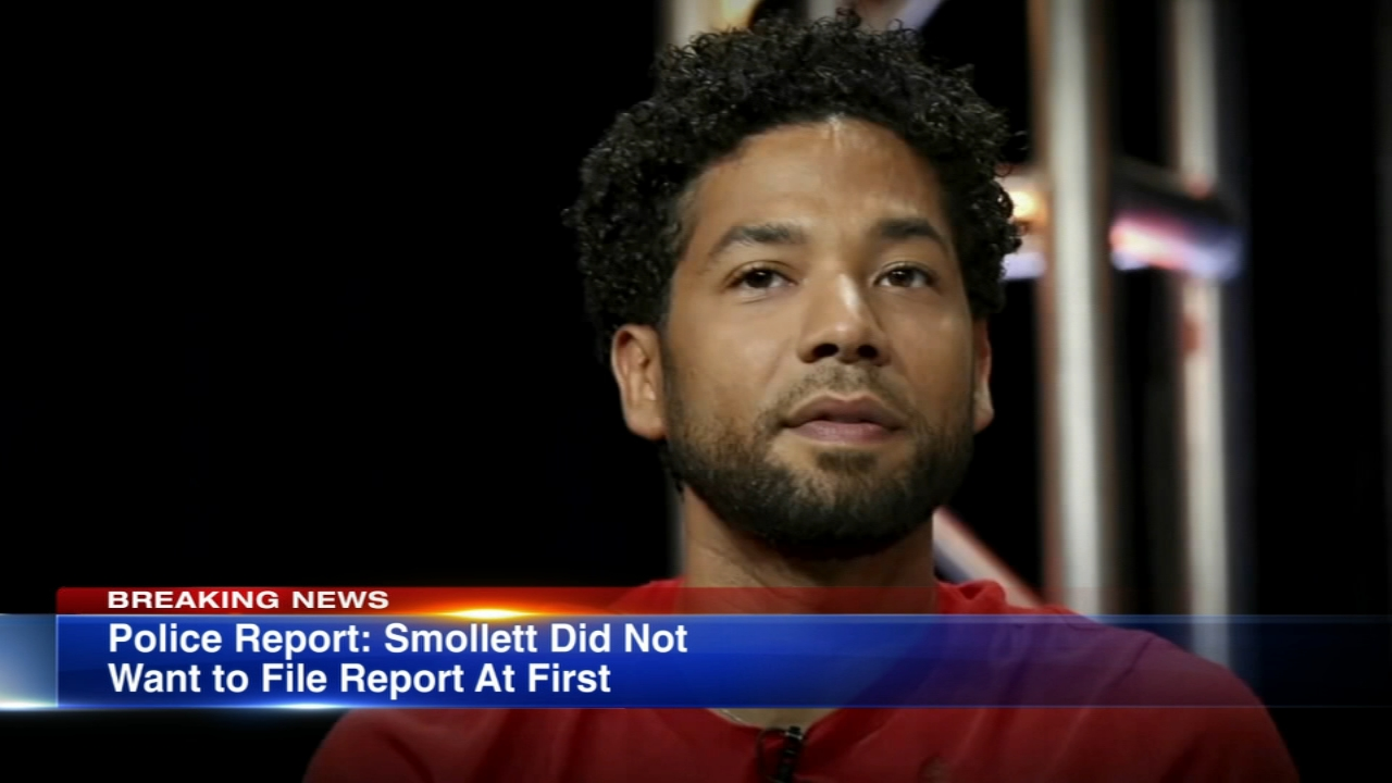 Empire actor Jussie Smollett was attacked by two men in Chicagos Streeterville, police said.