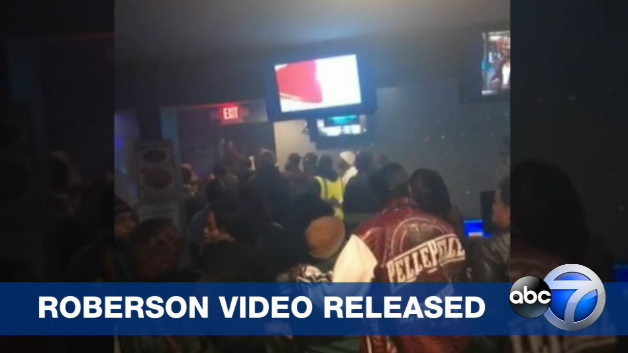 Video from the night 26-year-old Jemel Roberson was fatally shot has been released. ABC 7 obtained the footage through a Freedom of Information Act request.