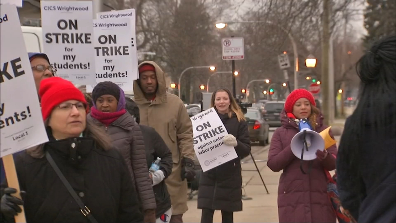 Teachers will be back out picketing at four Chicago International Charter Schools Wednesday morning.
