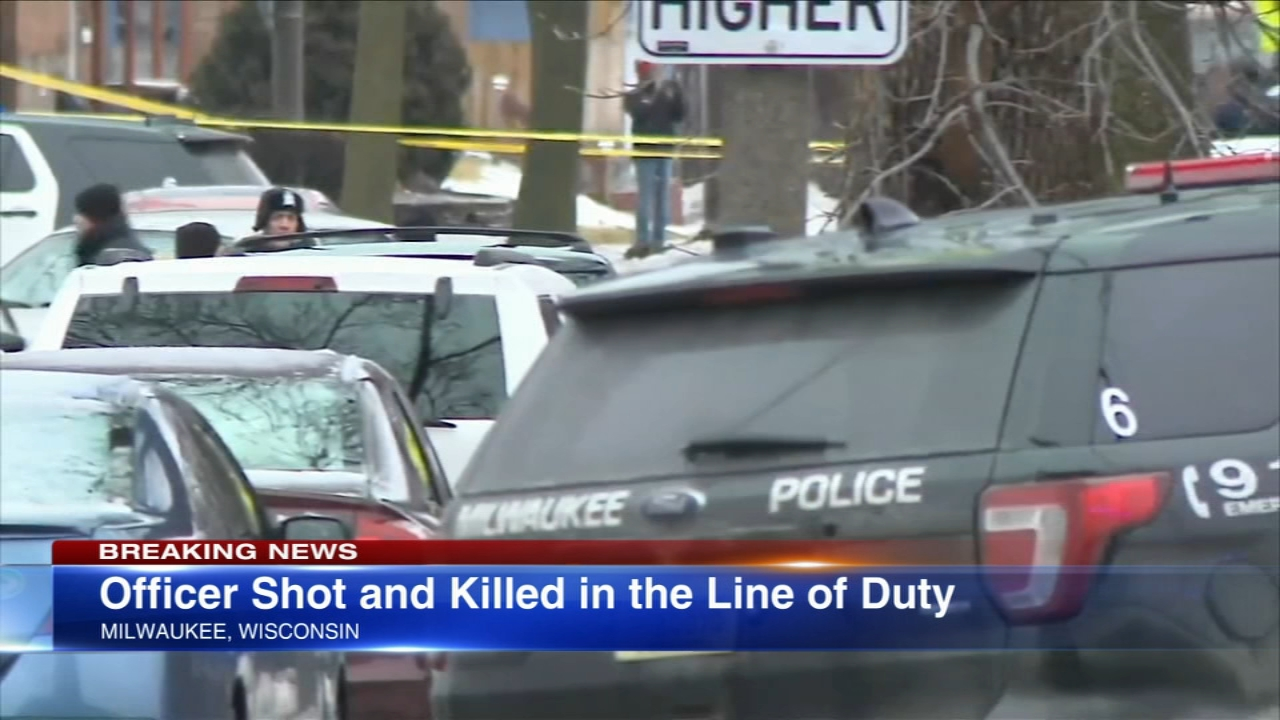 A Milwaukee police officer was fatally shot Wednesday -- the citys third officer killed in the line of duty in eight months.