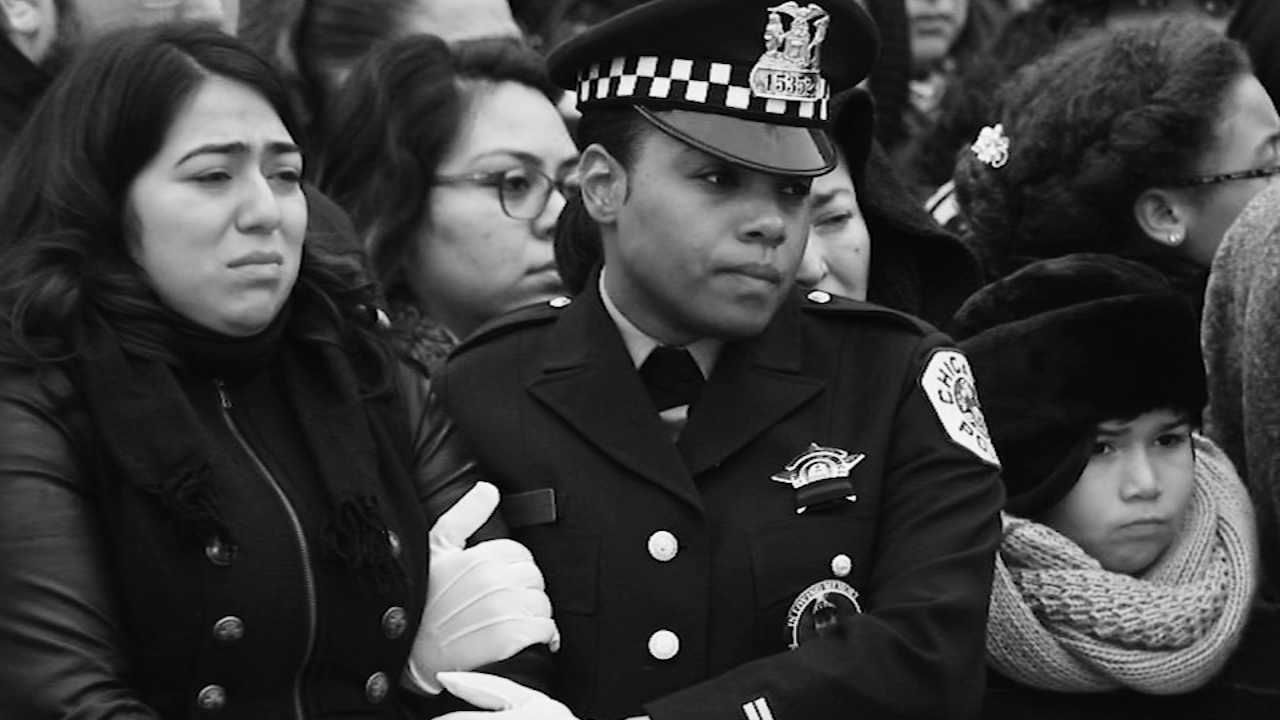 A small unit within the Chicago Police Department is designated to support families after an officer dies or is killed in the line of duty, and they have been called on a lot recen