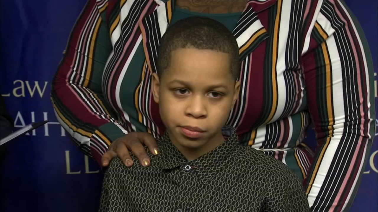 A family filed a civil rights complaint Thursday against Chicago Public Schools, claiming their 9-year-old son was beaten with a belt at school.