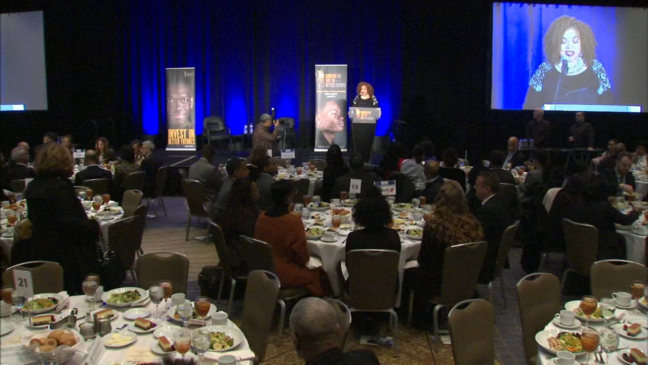 The United Negro College Fund hosted the 5th annual Chicago Mayors Luncheon on Thursday.