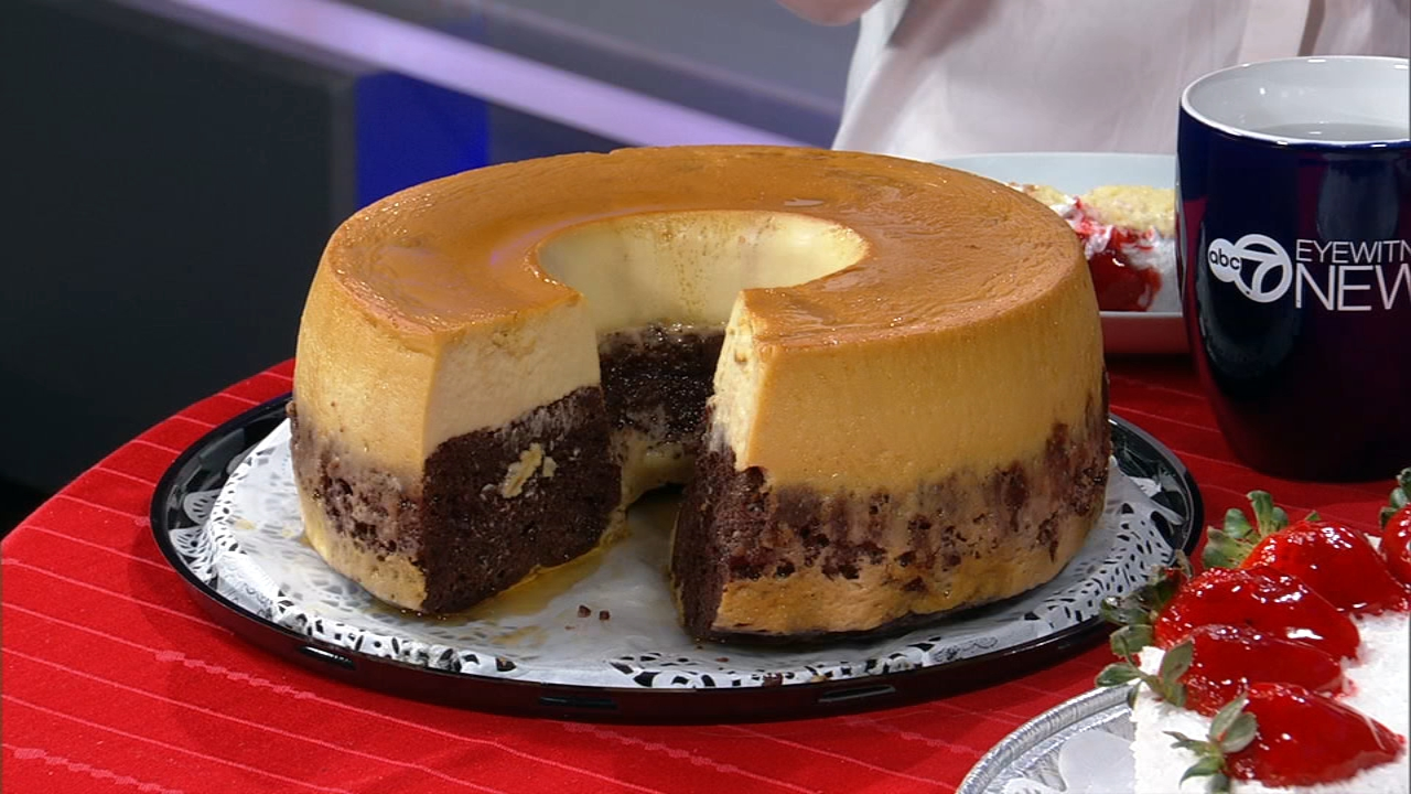 A few months ago, Kristoffers Cakes re-opened on 35th Street, now focusing primarily on cakes. One of them is called a chocoflan, and its unlike any other in town.