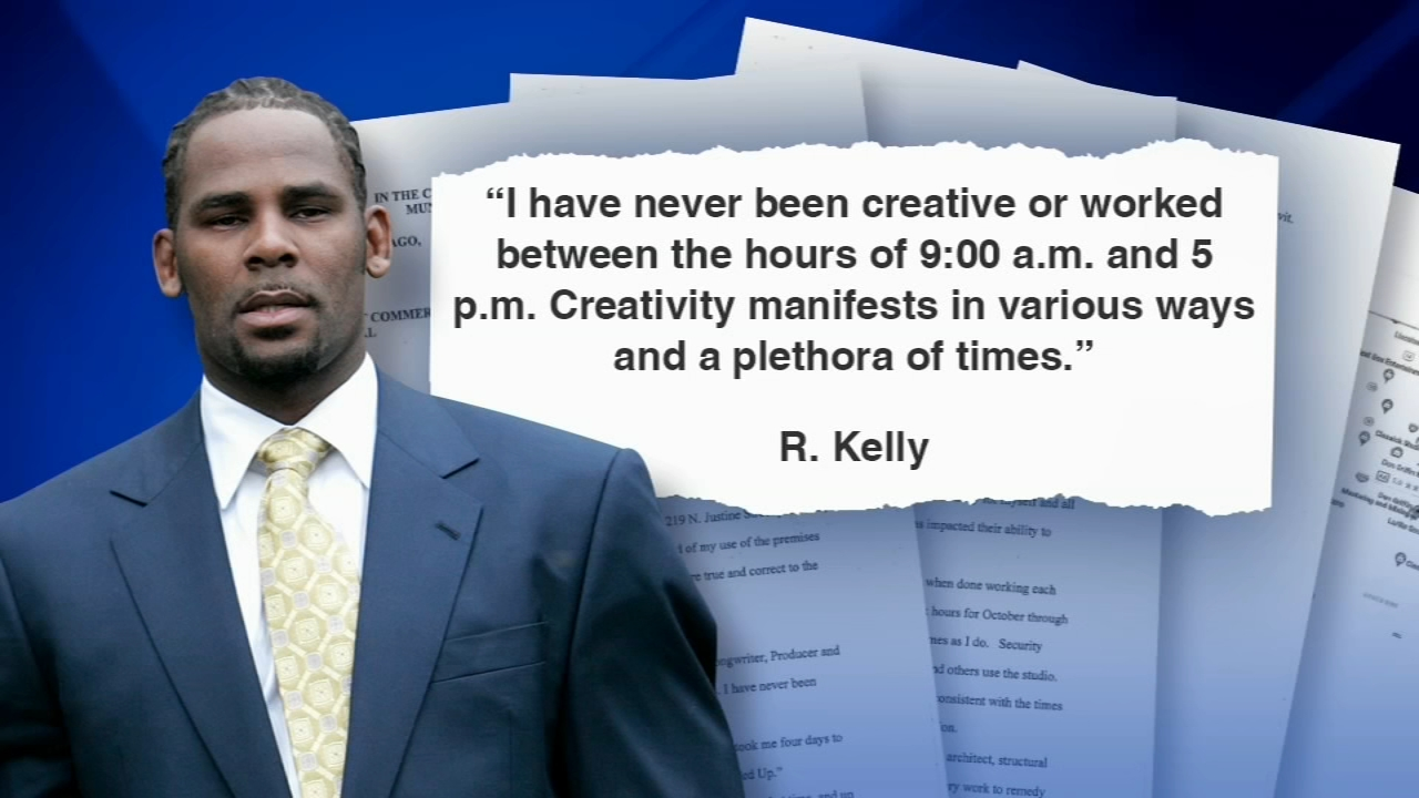 A Chicago housing judge will not allow R. Kelly to use his recording studio overnight.