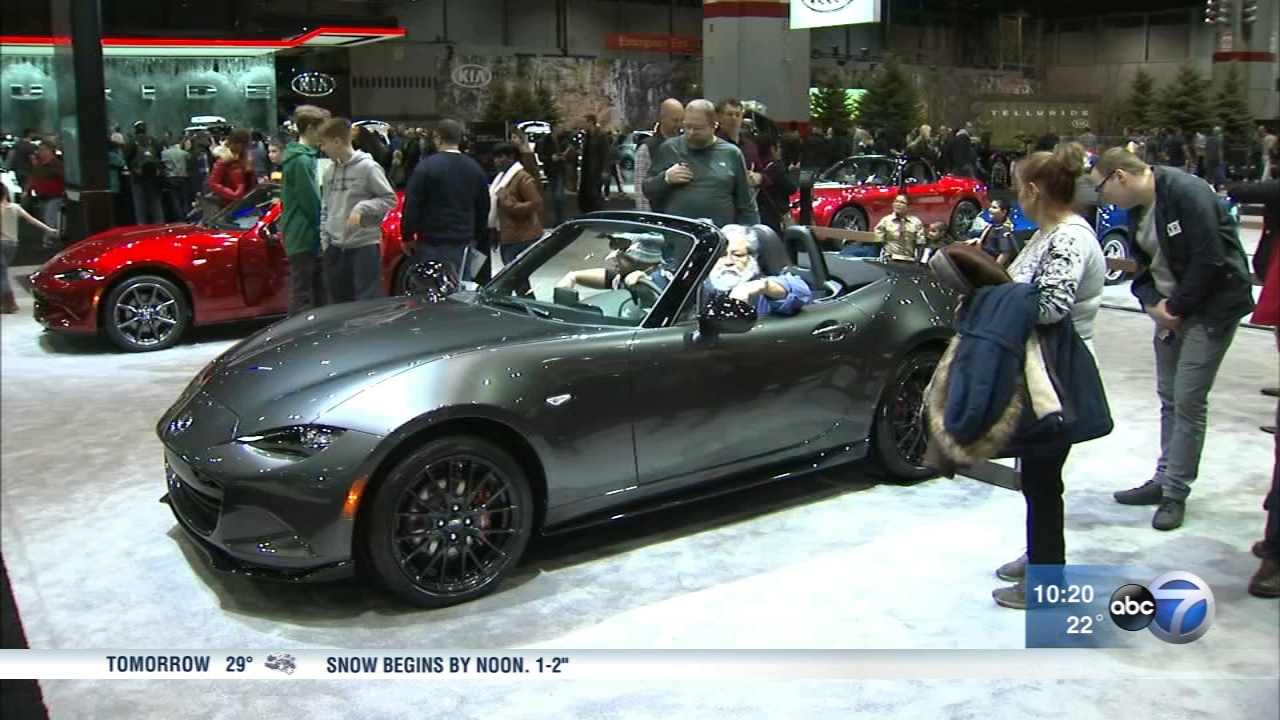 The 2019 Chicago Auto Show opened on Saturday.