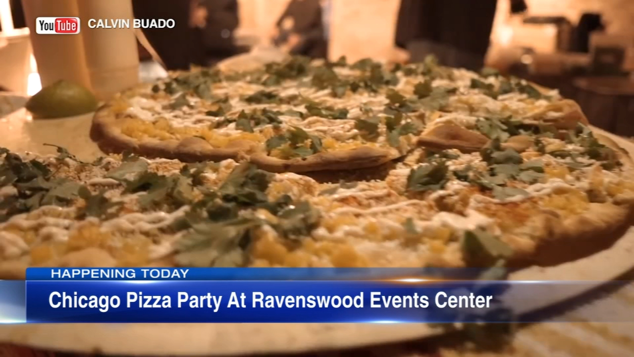 The Ravenswood Events Center is holding a pizza party in celebration of National Pizza Day.