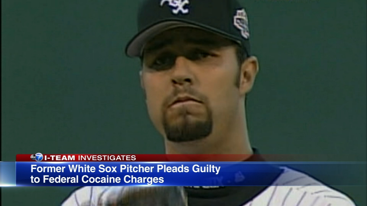 A former White Sox star pleaded guilty to federal drug charges on Friday.