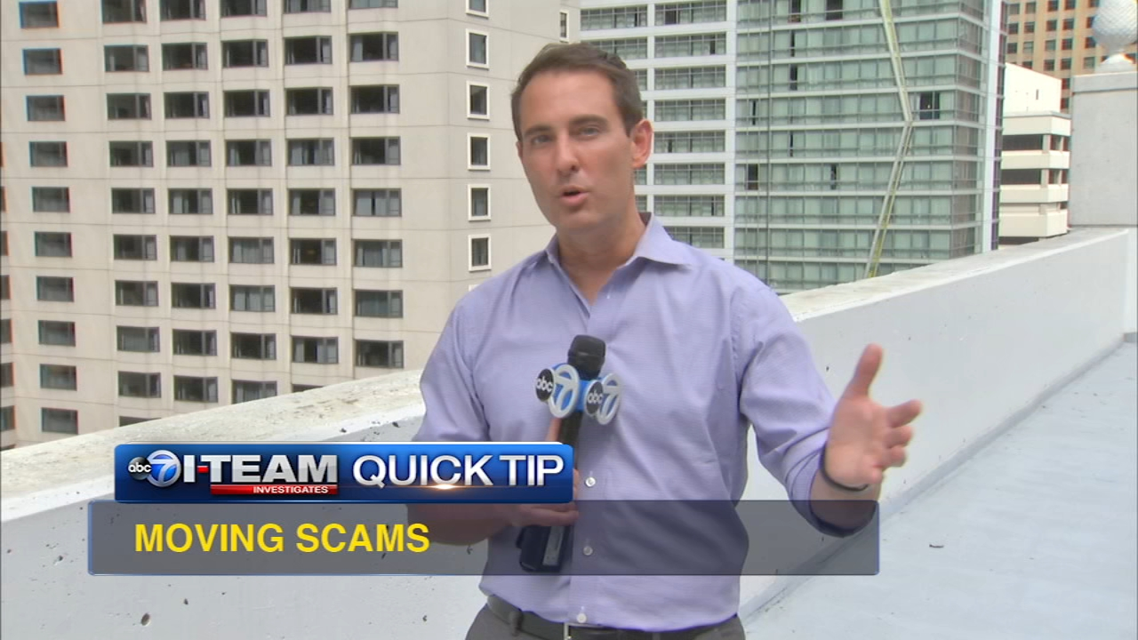 Summer is a popular time to move, but there are several schemes including movers who might take your items hostage!  Jason Knowles and the I-Team find out what you need to know to