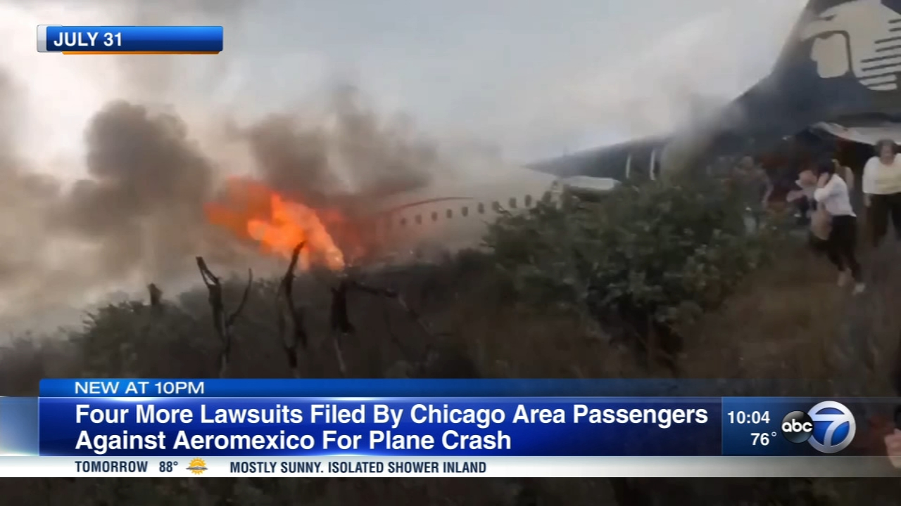 Dozens of Chicago-area residents were on board a Aeromexico plane that crashed in Mexico.