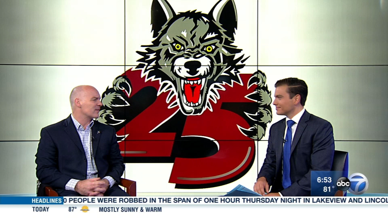 The Chicago Wolves 25th season kicks off Monday.
