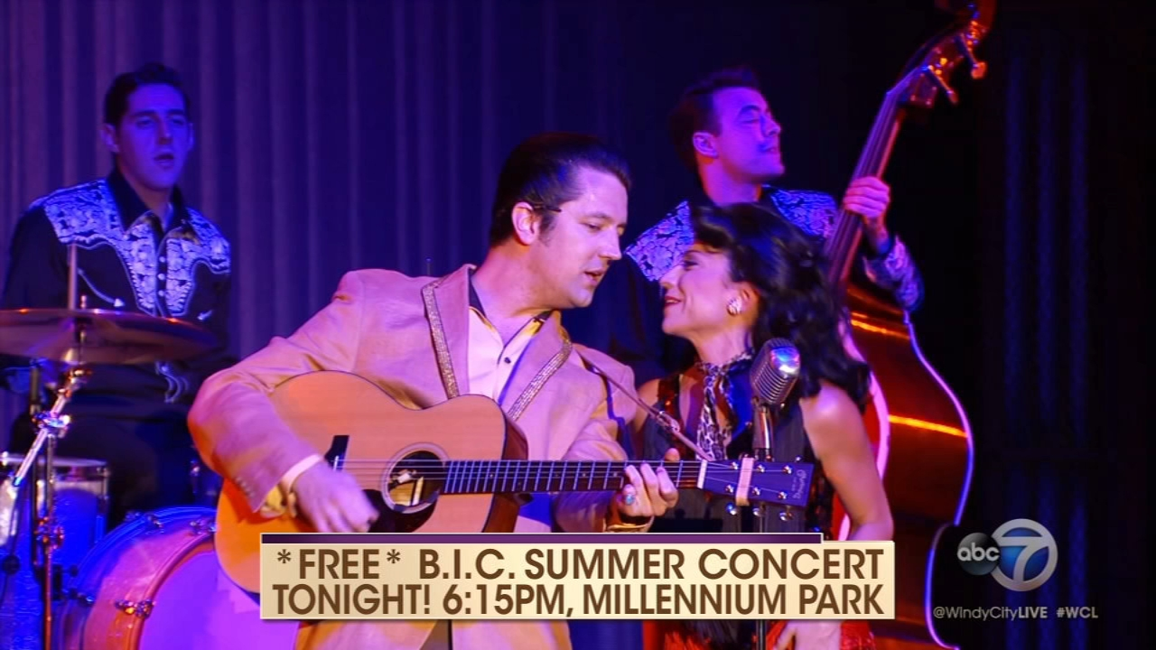 The Broadway in Chicago Summer Concert will be held Monday night in Millennium Park.