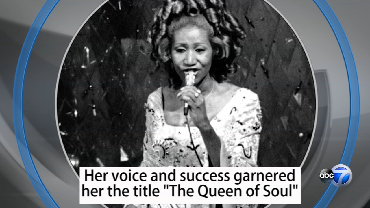 Aretha Franklins voice and success garnered her the title The Queen of Soul.