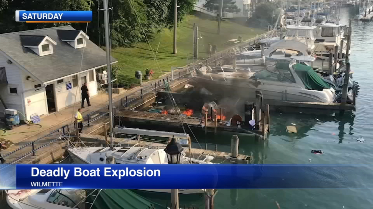 New details have emerged about Saturdays deadly boat explosion in Wilmette.