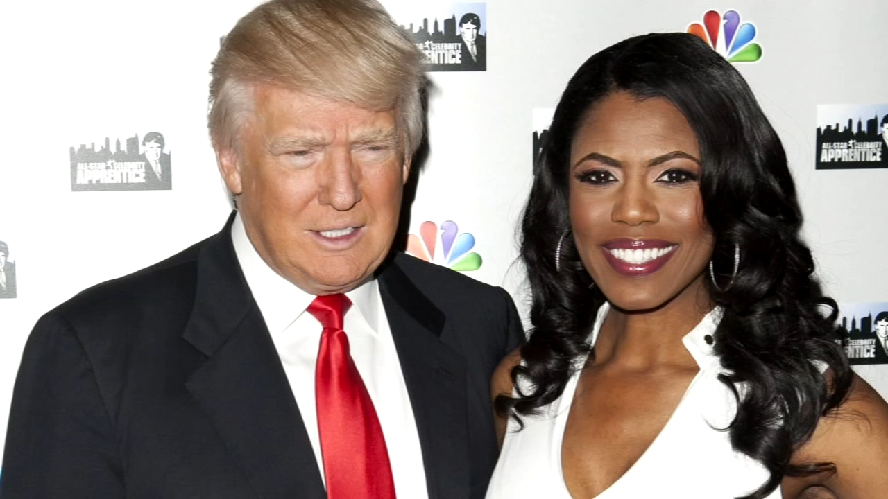 President Donald Trump lashed out at Omarosa Manigault Newman Monday, saying the former White House adviser - who is promoting a tell-all book and airing secret audio recordings -