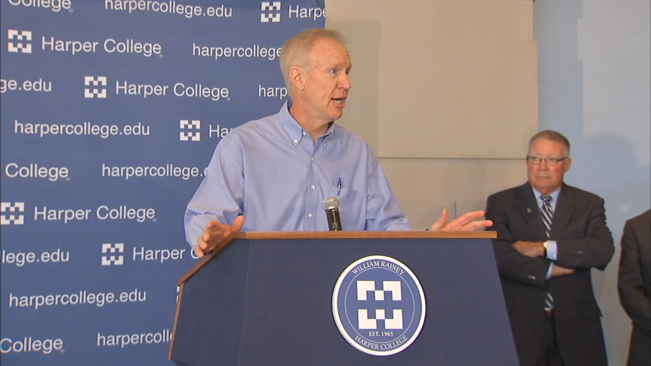 Governor Bruce Rauner is lashing out at campaign rivals as the November election draws nearer.