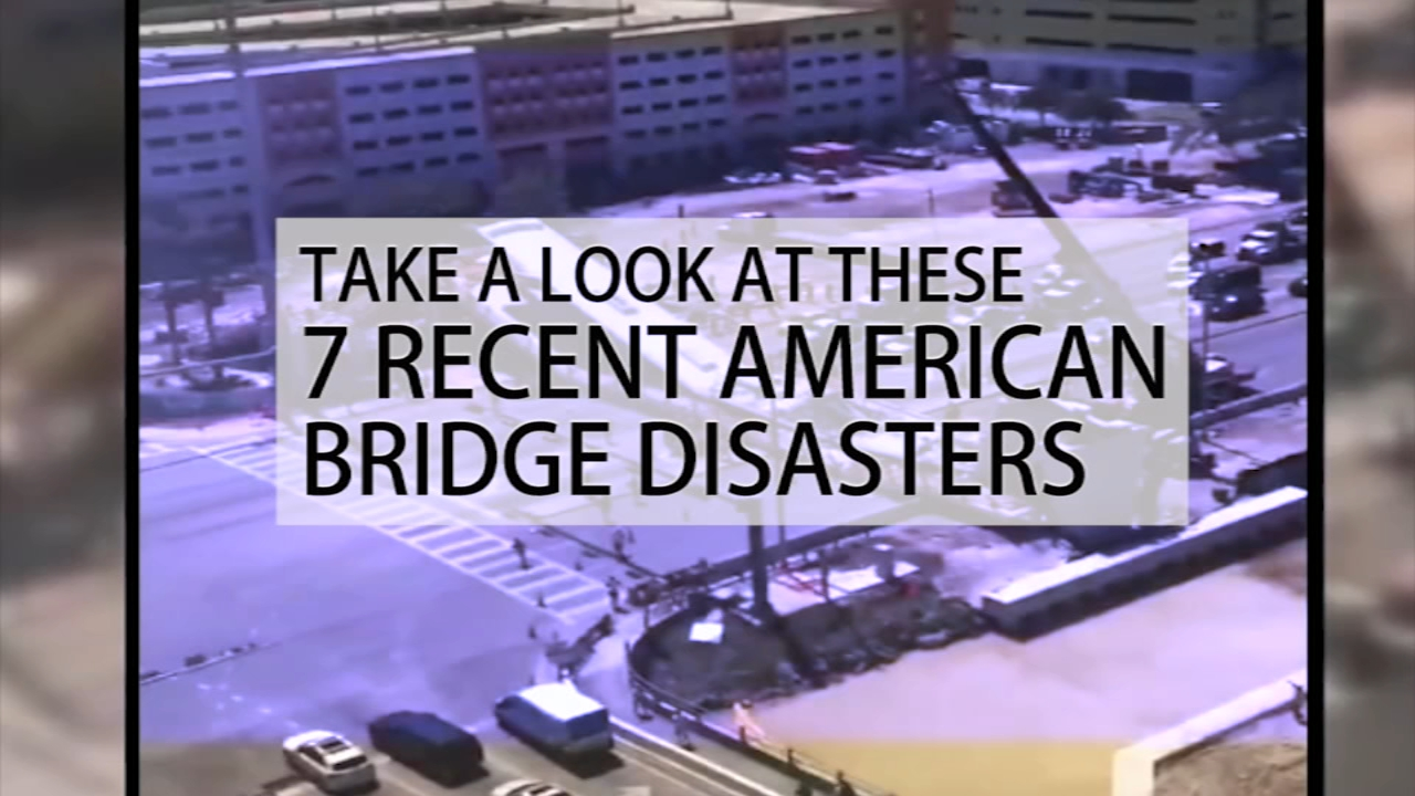 Take a look at these seven recent American bridge disasters.