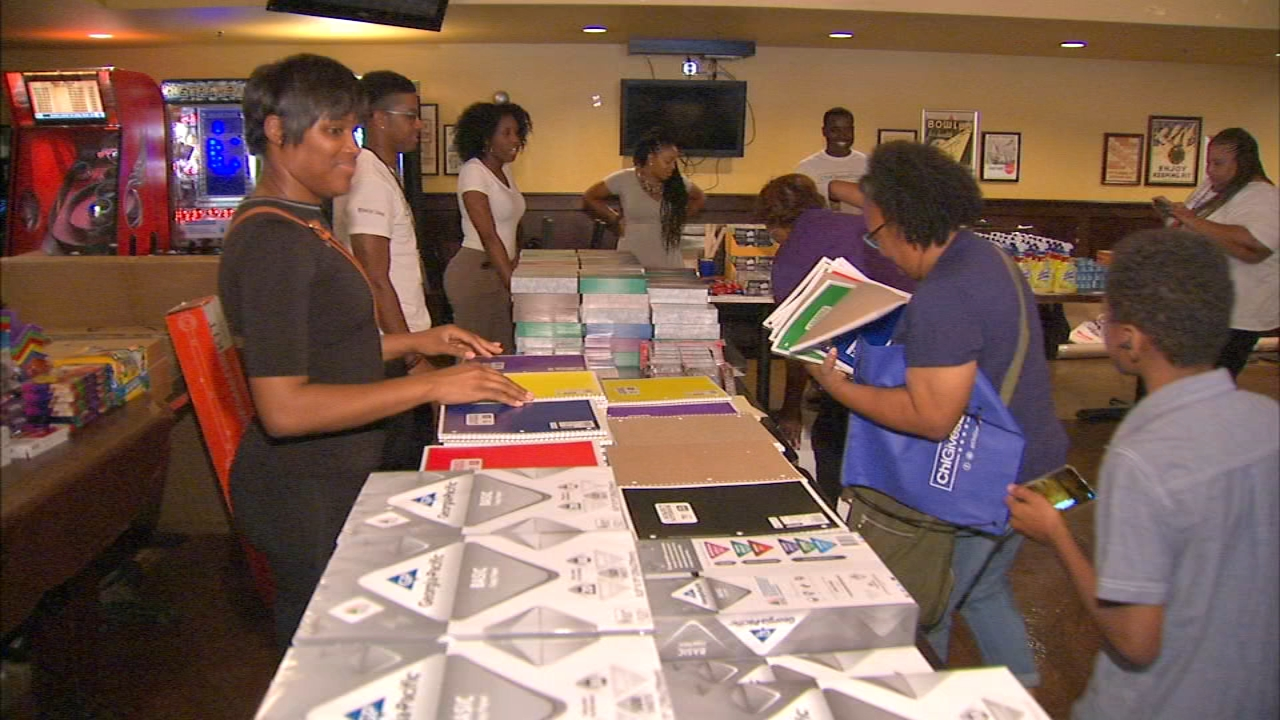 Fifty Chicago Public School teachers got a helping hand with their preparation for the new school year.
