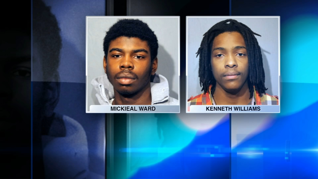 Mickieal Ward and Kenneth Williams are charged in the murder of Hadiya Pendleton in 2013.