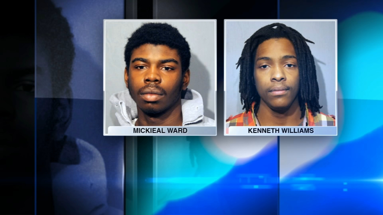 Kenneth Williams and Mickieal Ward are charged in the shooting of 15-year-old Hadiya Pendleton.