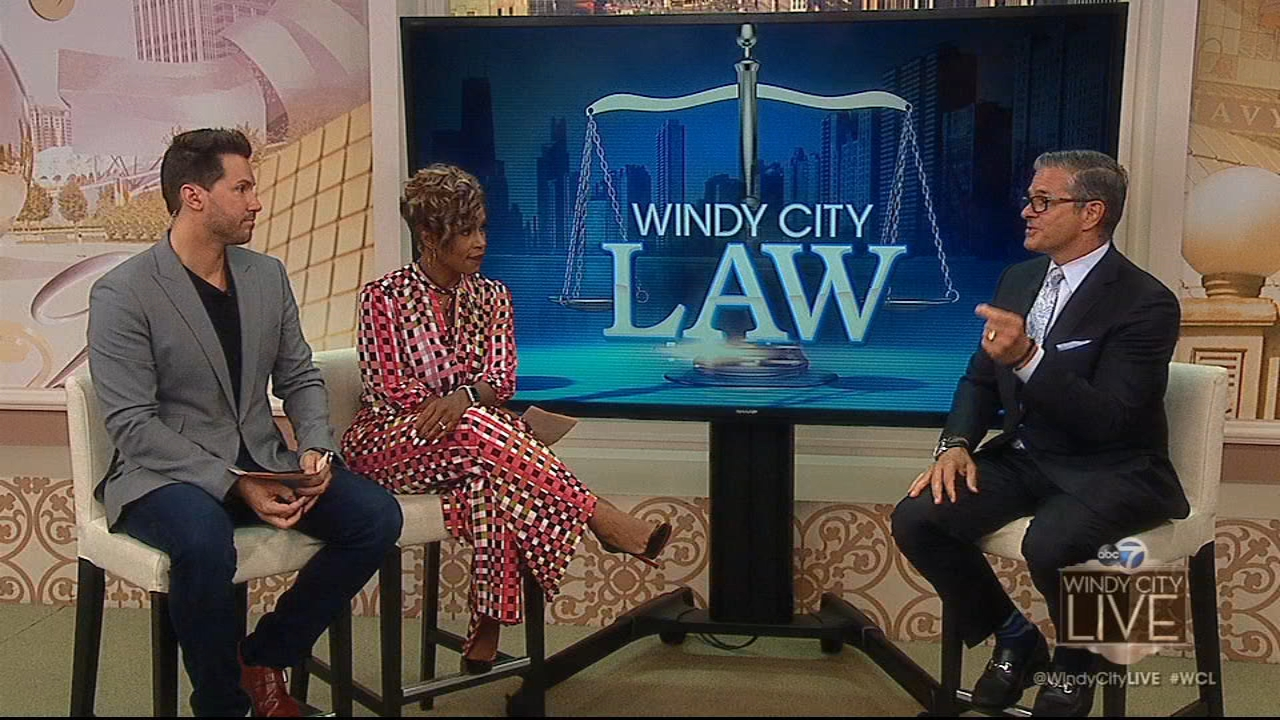 WCL kicked off a brand new segment on the show today called Windy City Law. Well look at legal stories and interesting cases in the news and helping us with his legal expertise