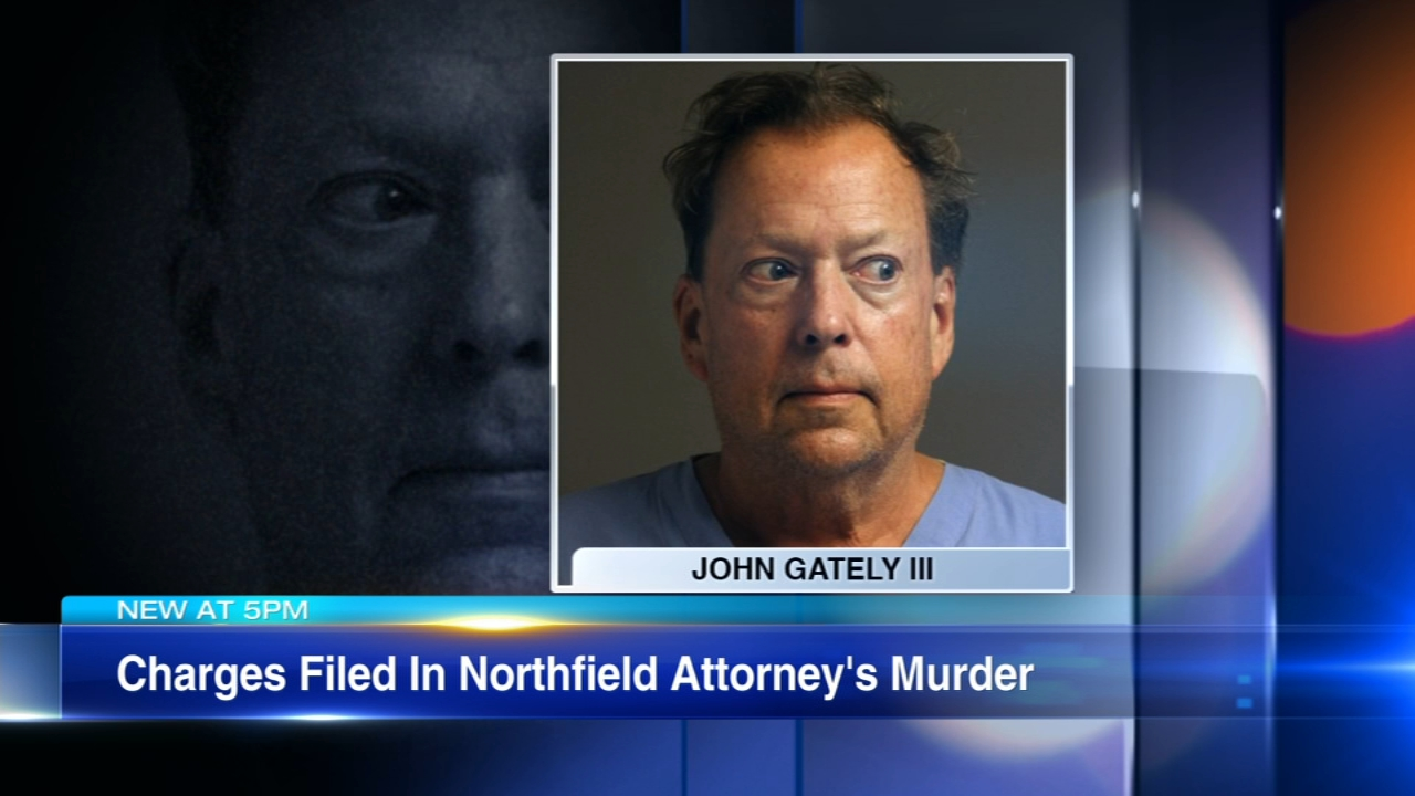 John Gately III is charged with killing his brother-in-law, 72-year old Stephen Shapiro, and prosecutors say he also tried to shoot his sister at their home.