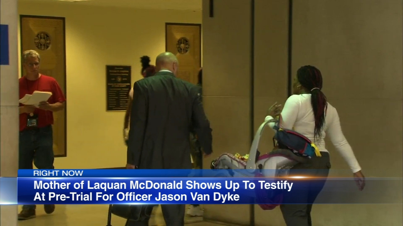 The judge presiding over the murder trial of Chicago Police Officer Jason Van Dyke said Laquan McDonalds mother must testify in pre-trial Thursday, or she will not be allowed to a