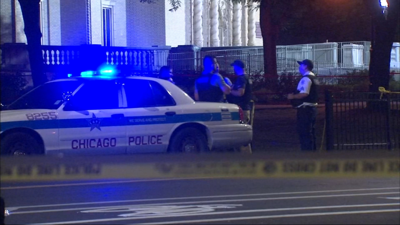 A 15-year-old boy was killed and a 14-year-old boy was wounded when someone pulled a gun and started shooting Thursday night outside a basketball tournament at the Garfield Park Fi