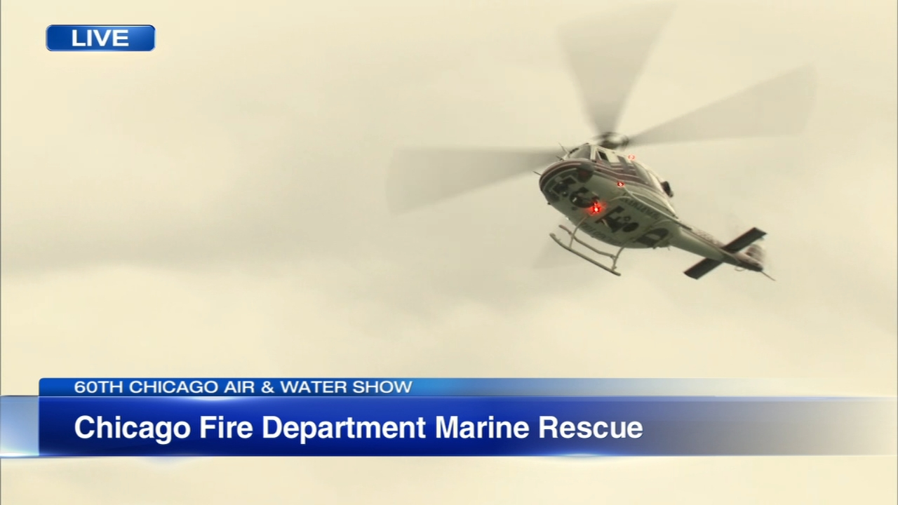 The Chicago Fire Department Marne and Dive Operations Unit joined ABC7 News This Morning to demonstrate what a rescue operation would look like, should the need arise.