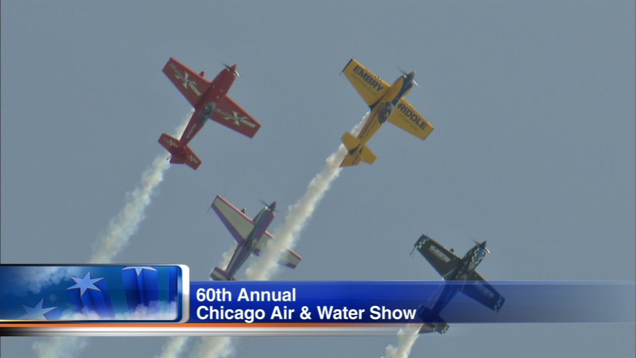 The 60th Annual Chicago Air and Water Show will get underway Saturday along the lakefront.