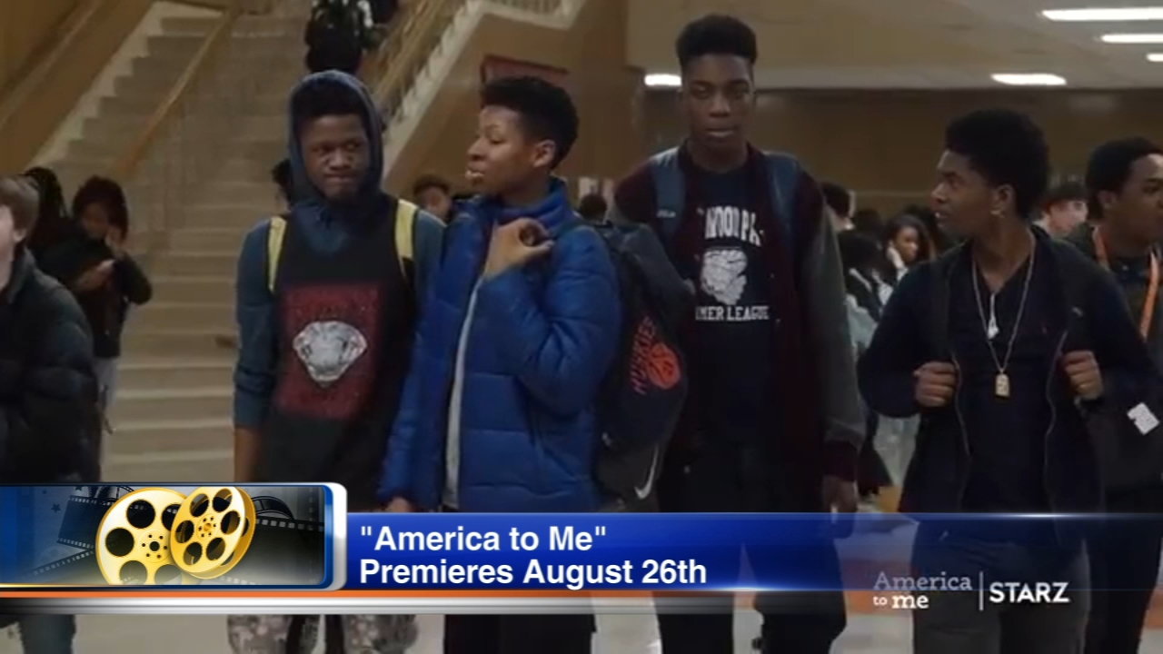 America to Me is a new docu-series that premieres on Starz next weekend.