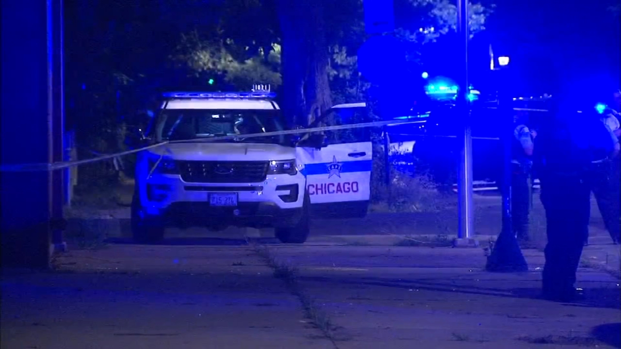 Chicago police said a teenage boy died of a self-inflicted gunshot wound after a brief foot chase with police Friday night.