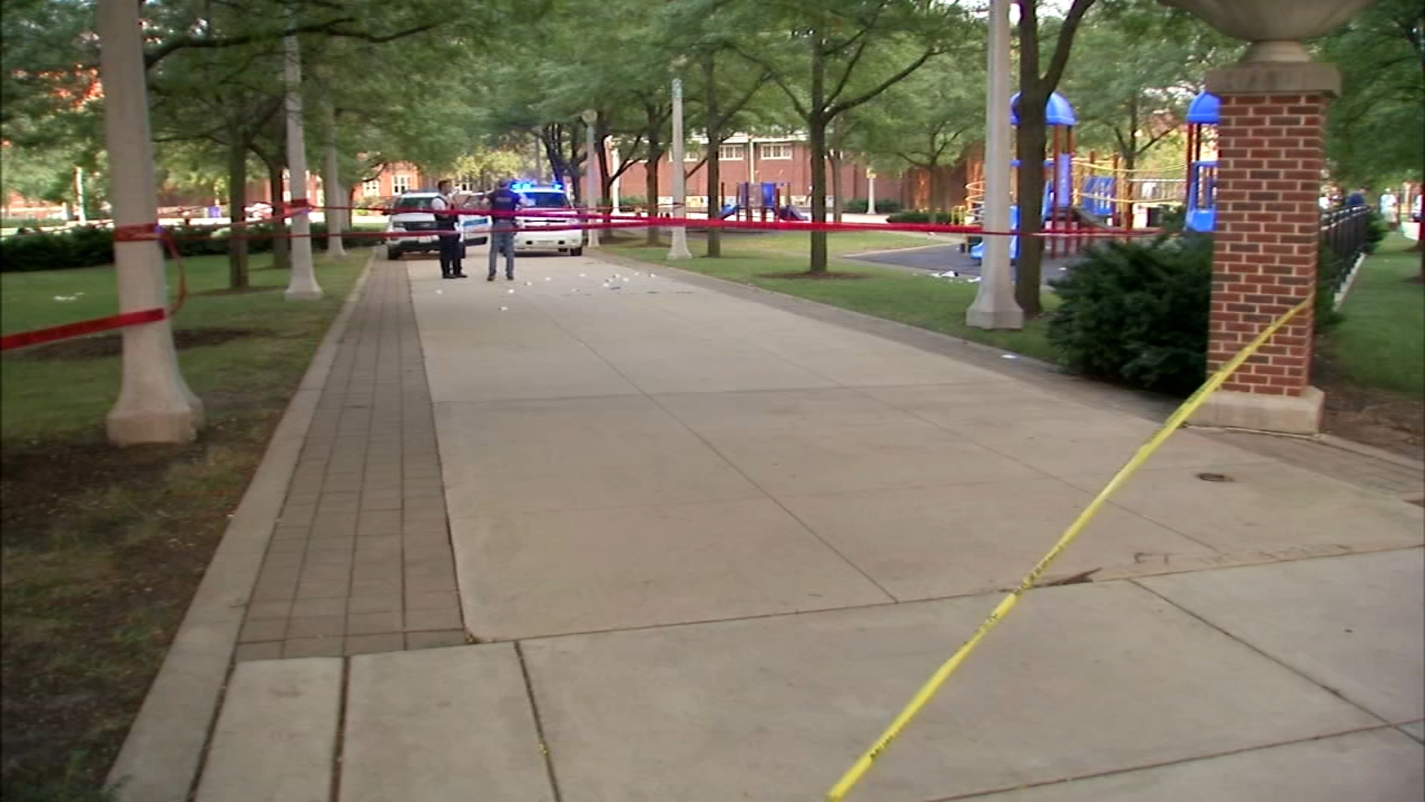 A shooting broke out at a back-to-school event at Seward Park on Chicagos Near North Side.